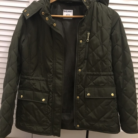Old Navy Jackets Coats Quilted Jacket With Hood Poshmark